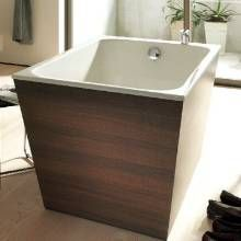 Exceptionnel ... Which Comes In Numerous Styles, Including A U201ccompactu201d Model (pictured  In Dark Chestnut Finish) L X W. Inspired By Japanese Soaking Tubs.