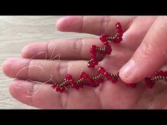 Bit Crystal Twisted Bracelet Making (Halskette, Armband, Ohrring, Brillenband, Fußkettchen) - Armband Ideen Seed Bead Tutorials, Jewelry Making Tutorials, Beading Tutorials, Beaded Jewelry Patterns, Beading Patterns, Bead Sewing, Jewelry Editorial, Jewelry Illustration, Jewellery Sketches