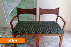 Before & After: Emily's Crafty Chair Project