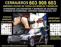 RapidTecnic Valencia 603 909 909: Cerrajeros de coches Pobles Sud, Valencia 603 908 ...