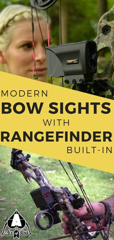 Bow sights with rangefinder built-in are the latest modern archery innovation being improved each year! Add one to your bow! Read more! Archery Gloves, Archery Gear, Archery Equipment, Hunting Gear, Bow Hunting, Archery For Beginners, Archery Competition, Archery Shop, Arches
