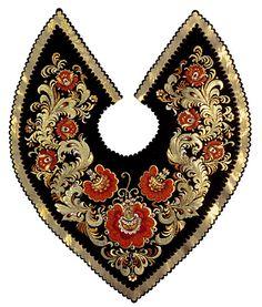 HOHLOMA-russian art Russian Folk Art, Art Costume, Folk Embroidery, Russian Fashion, Confectionery, Art And Architecture, Textile Design, Countryside, Art Decor