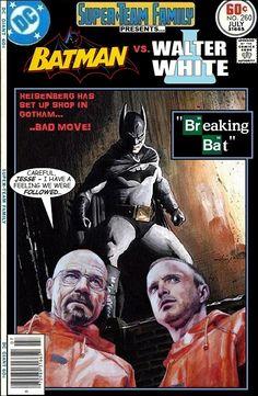 Super-Team Family: The Lost Issues!: Batman Vs. Walter White