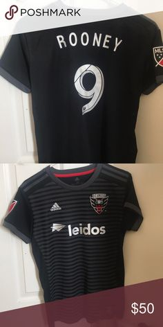 9d4b89e0ad6 Dc United jersey Authentic Rooney from dc United jersey Other