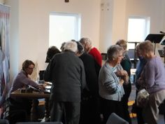 Pauline Rowson book signing at Thornhill Park Baptist Church Over 50s Activity Day - Nov. 2014