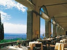 Villa San Michele - Florence.  The most memorable dinner we'll never forget.