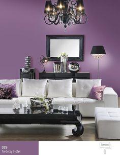 Dobór kolorów ściany do białych mebli