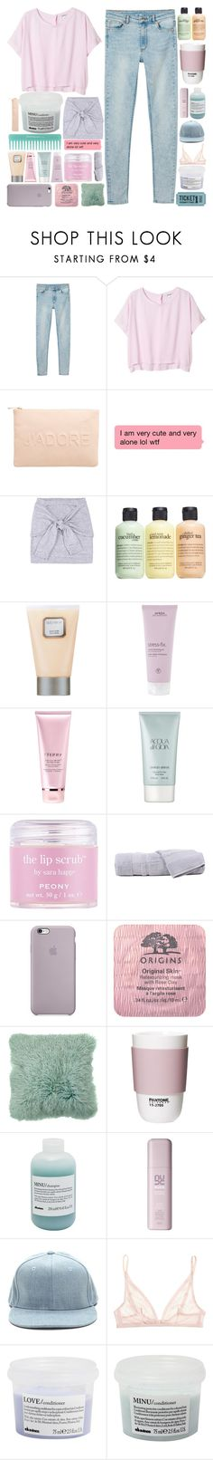 """♡ i wish i was strong enough"" by s-erene ❤ liked on Polyvore featuring Monki, Miss Selfridge, philosophy, Laura Mercier, Aveda, By Terry, Giorgio Armani, Sara Happ, Hamam and Origins"