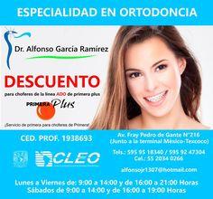 Cirujano Dentista en Texcoco. Dr. Alfonso Ramírez especialista en Ortodoncia! http://negocilibre.com/directorio/dr-alfonso-garcia-ramirez/