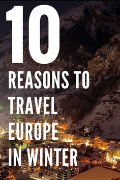 While Europe is hugely popular travel destination in the summer, there are 10…