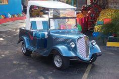 Melissa's Golf Cart Custom Body Kits - click 4 Body Kits Custom Golf Cart Bodies, Custom Golf Carts, Golf Cart Body Kits, Custom Body Kits, Vintage Cars, Antique Cars, Mini, Classic Cars, Retro Cars