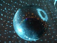 Powered Mirror Ball - perfect for dance floors.