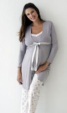Starlit Nursing Cami & Pant Set – Milk & Baby