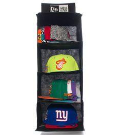 New Era 24 Cap Hanging Closet Storage System To Organize Your Hats
