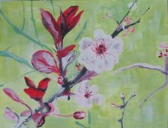 Elizabeth Reoch's Oil Painting Gallery is a collection of some of her favorite oil paintings. Oil Painting Gallery, Art Gallery, Painting Lessons, Painting Techniques, Cherry Blossom Painting, Paint Flowers, Learn To Paint, My Arts, Abstract