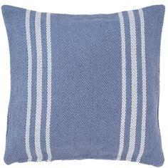 Lexington Denim/White Indoor/Outdoor Pillow