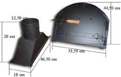 Resultado de imagen para puertas de hornos de leña Nespresso, Bbq, Oven, Kitchen Appliances, Pizza, Outdoor Decor, Architecture, Ideas, Ovens