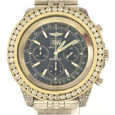 BREITLING 11.30ctw Diamond Swiss Watch  http://www.propertyroom.com/listing.aspx?l=9479425