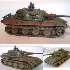 E-100  Trumpeter 1/35 scale  By: Tony Clark  From: missing-lynx  #udk #usinadoskits #e100 #trumpeter #guerra #war #tanque #tank #germany #alemanha #iigm #wwii #plastimodelismo #plastickit #kit #miniatura #miniature #miniatur