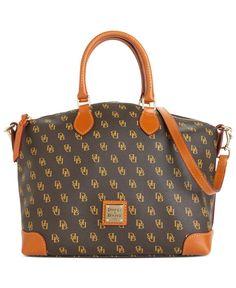 Dooney & Bourke Handbag, Gretta Signature Satchel