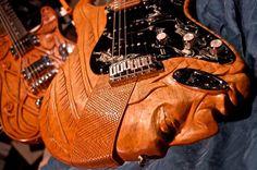 Engraved Guitar
