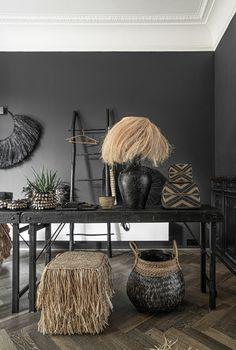 Home Design, Interior Design, Market Table, Belly Basket, Outside Room, Rattan Basket, Baskets, Wood Sizes, Room Interior