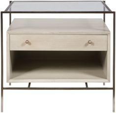 Vanguard Furniture: W475L-BG Brody Lamp Table