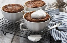 Perfect for the holiday season, these Individual Gingerbread Pudding Cake are warm, spicy and comforting. Enjoy them as individual puddings or make as one big one, if you prefer.