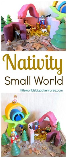 Nativity Small World | Little Worlds Big Adventures