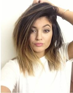 Kylie Jenner Brown Blonde Ombre