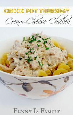 Crock Pot Thursday: Cream Cheese Chicken