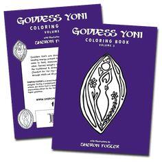 Goddess Yoni Coloring Book - Volume 3