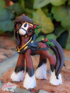 Kringle Whisper Fillies Original Clydesdale Horse Sculpture Handmade art doll | Dolls & Bears, Dolls, Art Dolls-OOAK | eBay!