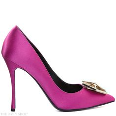 "Hot Pink Jewel ""Eden"" by NICHOLAS KIRKWOOD 