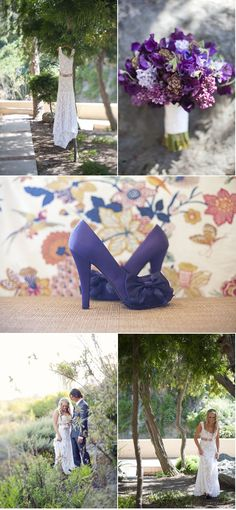 These shoes are an option....if they can be found. ll Love the dress ad bouquet too ll