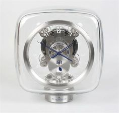 Marc Newson for Jaeger LeCoultre: An Atmos 561table clock Marc Newson for Jaeger LeCoultre: An Atmos 561 table clock.