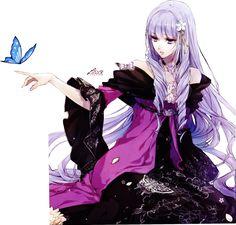 Violette Render #2 by LunaLeskaX.deviantart.com on @DeviantArt