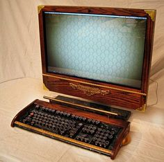 Victorian Steampunk Apple iMac Mod by woodguy