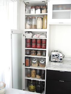 Zero Waste Kitchen / Pantry... I am so excited to read this whole blog and put some of these ideas into play...