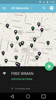 Wiman.me Material Design - by Vincenzo Menni for wiMAN | #ui #android
