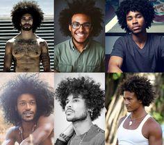 Cabelo Afro Masculino Black Power