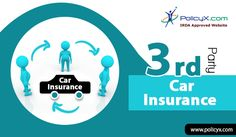 In India purchasing third party car insurance is mandatory,under this insurer will provide the necessary coverage and pay on your behalf  for any loss to third party's vehicle during an accident caused by you..So buy car insurance now and take advantage of third party insurance