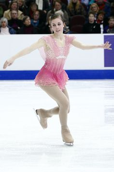 Ashley Wagner - love the layered skirt and light sleeves like wings