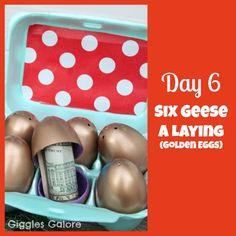Giggles Galore: 12 Days of Christmas Service {Day 6} Six Geese A Laying