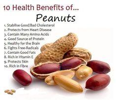 Health Benefits of Peanuts!!!!