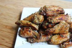 Tangy Baked Chicken Wings Recipe Easy homemade chicken wings
