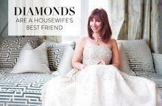Diamonds Are A Housewife's Best Friend: Inside Jill Zarin's Jewelry Vault | The Vivant