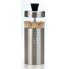 Shop for Stainless Steel Toothpick Holder. Free Shipping on orders over $45 at Overstock.com - Your Online Kitchen