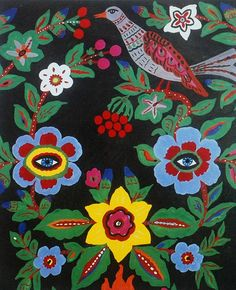 Russian folk art by Ninainvorm, via Flickr
