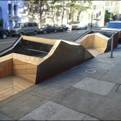 Creative urban seating / plant bed solution . Work in progress . #street #furniture | Flickr - Photo Sharing!